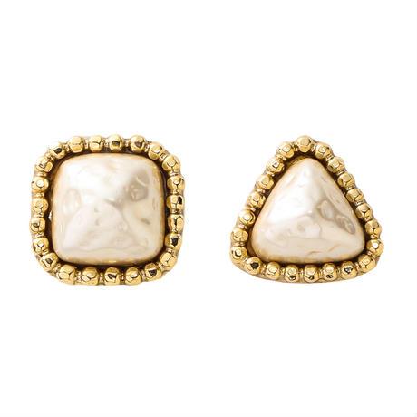 CUTSTEEL baroque pearl pierce gold