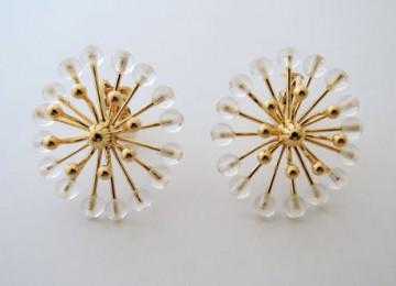 FILIGREE flower earring