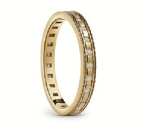 Damiani - Belle Epoque ring in yellow gold 20058634