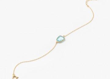 1204171001 Organic Gems ブレスレット  ブルートパーズ