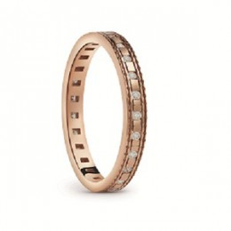 Damiani - Belle Epoque ring in pink gold 20058635