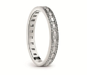 Damiani - Belle Epoque ring in white gold 20058631